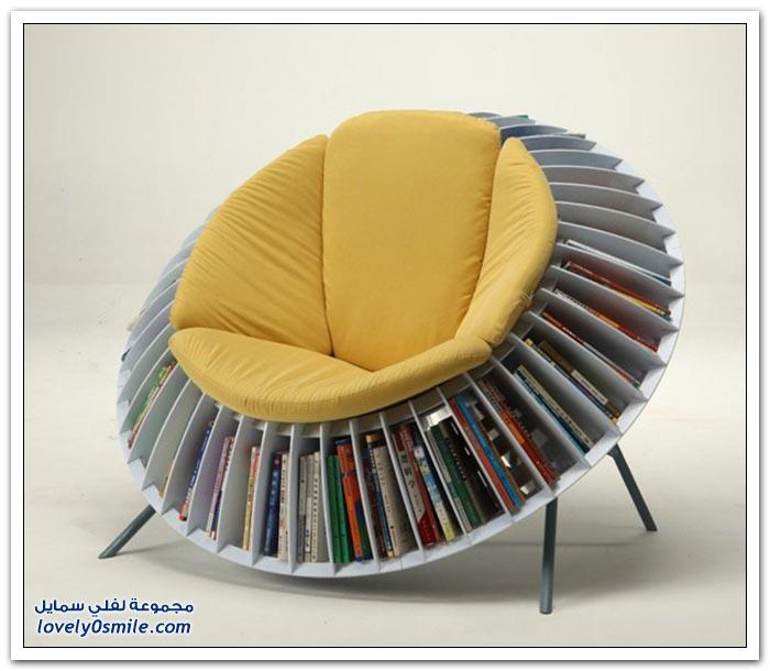 تصاميم وأفكار منزلية لعشاق الكتب والقراءة
