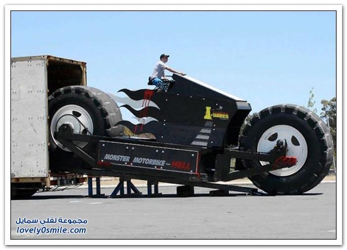 المركبات ذات العجلات الضخمة