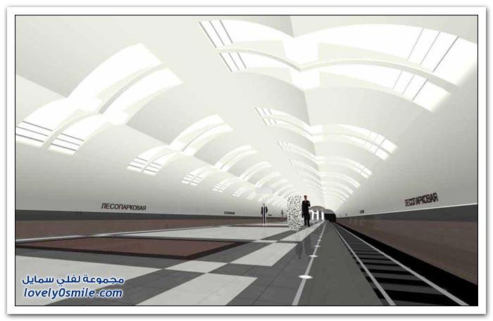 من أجمل محطات المترو حول العالم