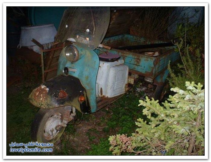 دباب روسي قديم يتم تحويله لمنزل متنقل