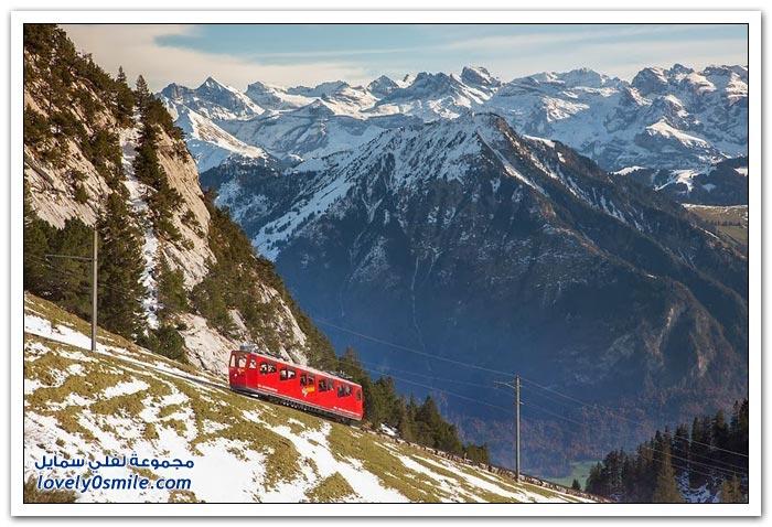 أعلى منحدر سكة حديد في العالم