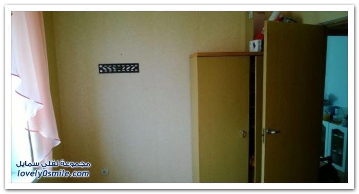 غرفة قبل وبعد التجديد