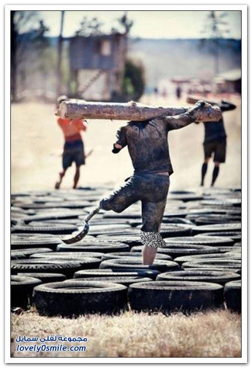 قمة التحدي وقوة العزيمة شاهد ماذا يمكن أن تفعل