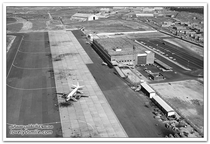 مطار نيقوسيا المهجور في قبرص