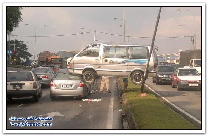 حادث غير عادي يحتاج لتفسير