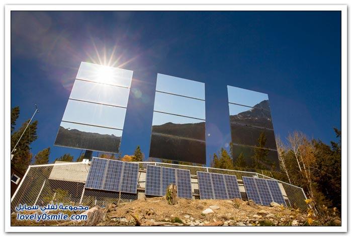 بلدة أوروبية تشاهد الشمس لأول مرة باستخدام المرايا