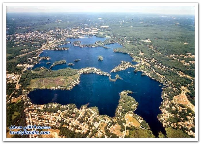 بحيرة ويبستر صاحبة أطول اسم في العالم