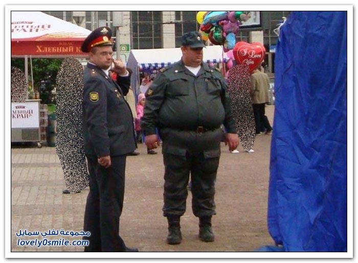 الروتين اليومي لرجال الشرطة حول العالم