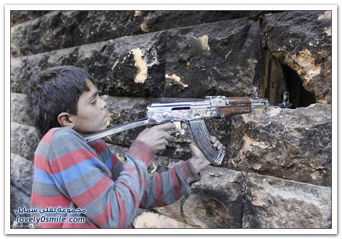 فتى من سوريا