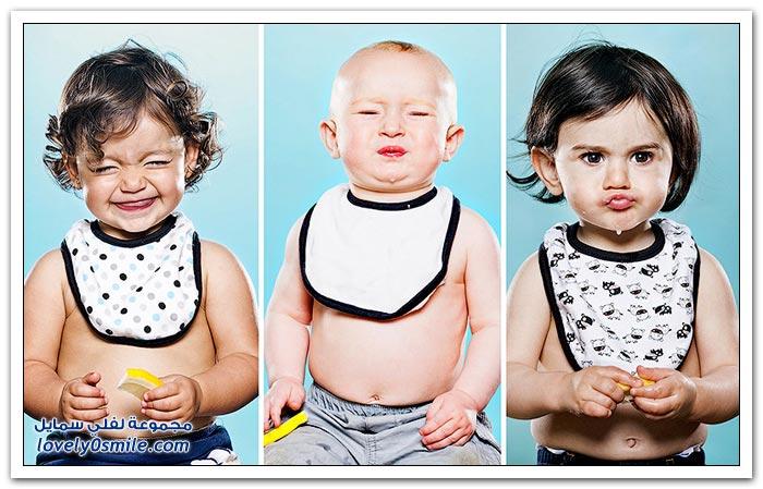 الأطفال والليمون