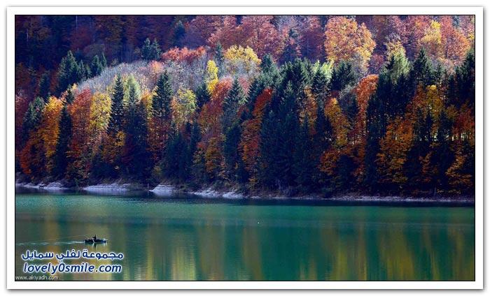 الخريف في أوروبا