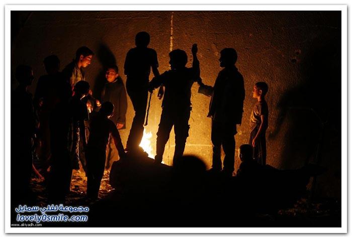 غزة تعيش في الظلام
