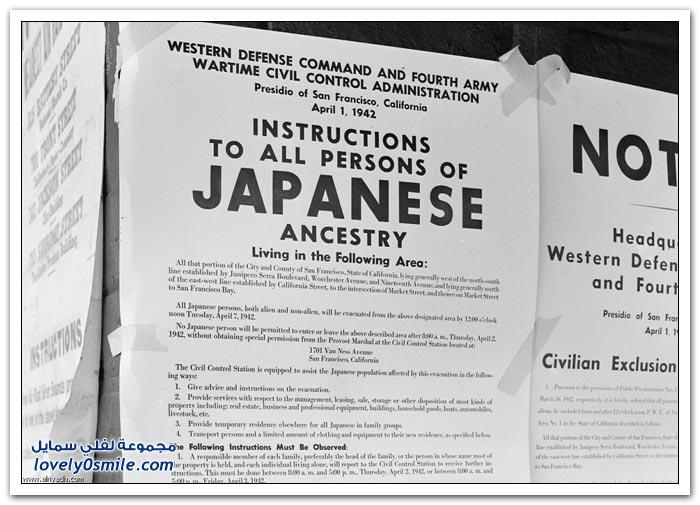 اليابانيون الأمريكيون - الحرب العالمية الثانية