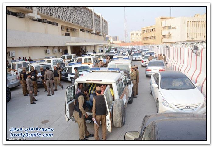رحلة القبض على مخالفي الأنظمة في السعودية