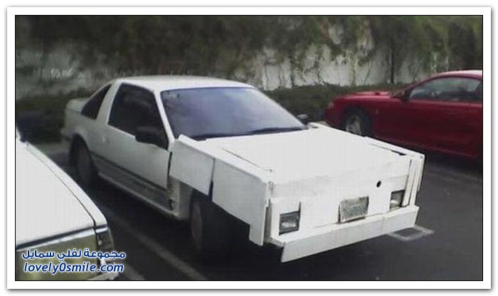 سيارات غريبة الشكل