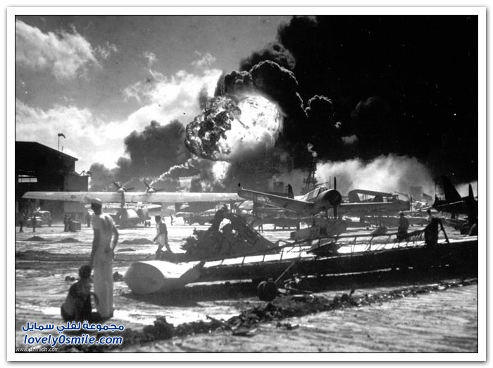 الهجوم على بيرل هاربر - الحرب العالمية الثانية