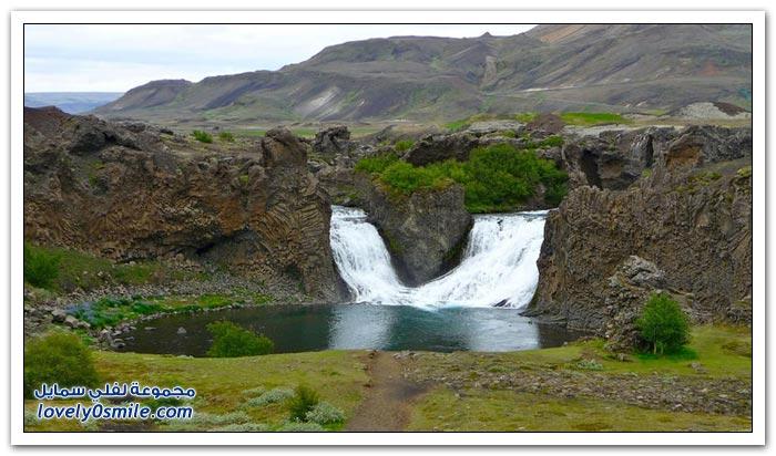أجمل الشلالات في أيسلندا