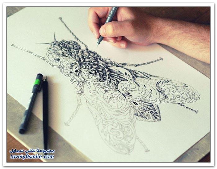 الرسم المعقد الرائع