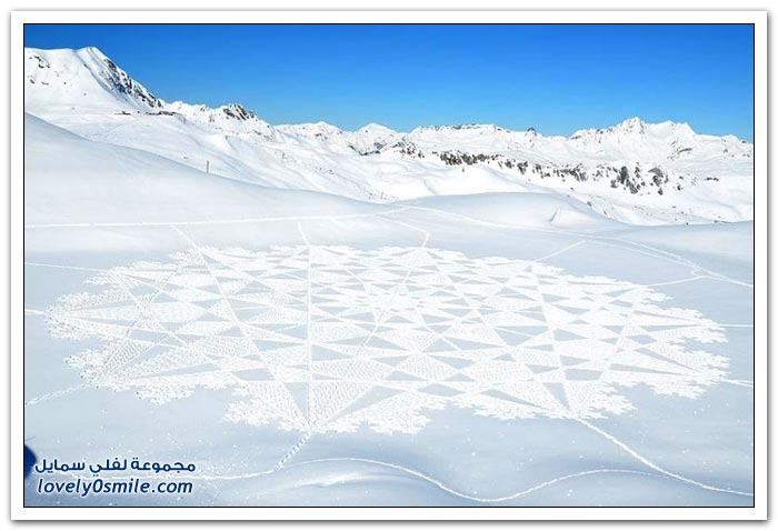 الكل يدخل Drawing-on-the-ice-f