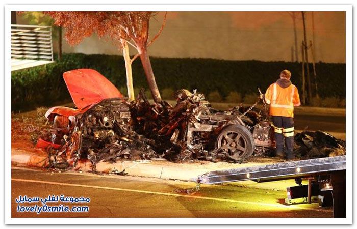 بطل أفلام السرعة بول ووكر يموت بحادث سيارة