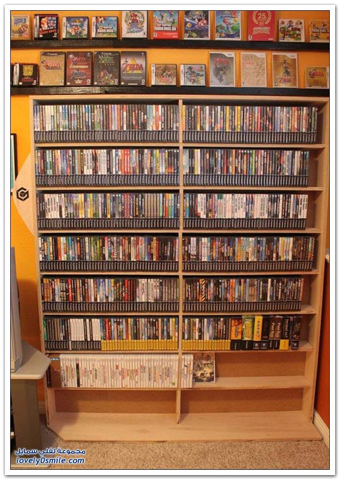 مكتبة ألعاب ضخمة
