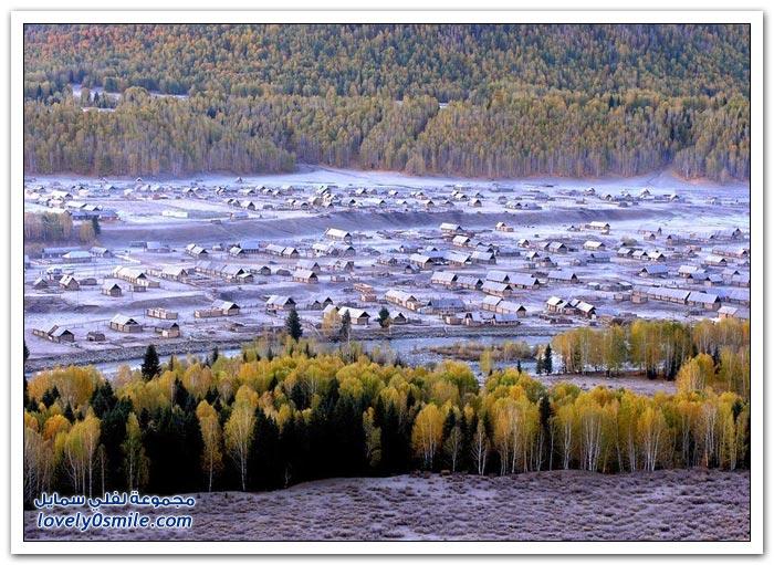 بحيرة كاناس في الصين
