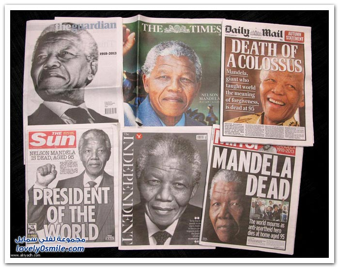 رحيل رمز الحرية نيلسون مانديلا