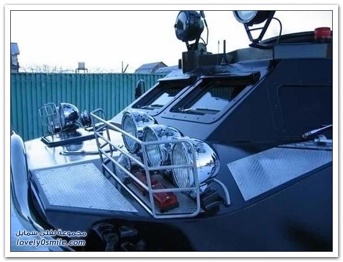 مدرعة برمائية روسية مخصصة للضباط