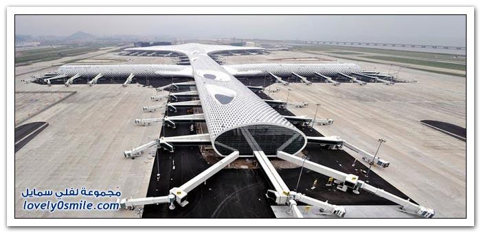 معلم معماري صيني جديد مطار شنتشن الدولي