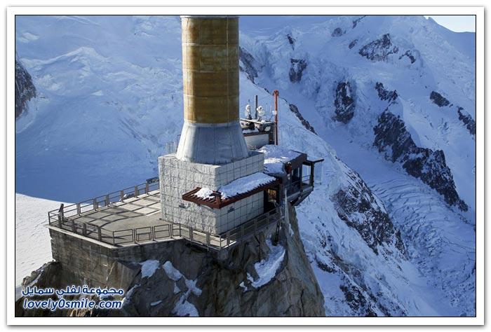 خطوة في الفراغ فوق جبال الألب الفرنسية