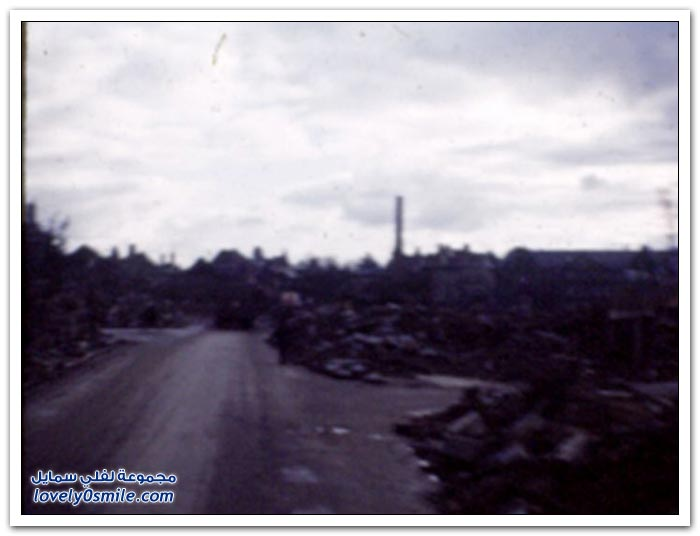 صور بالألوان أيام الحرب العالمية الثانية
