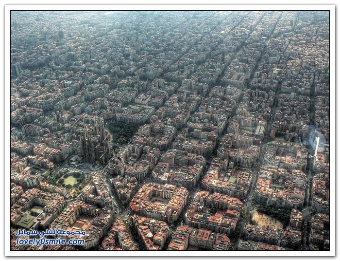 صور جوية رائعة لمدن حول العالم