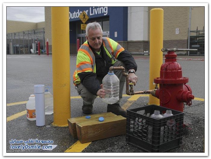 تسرب كيماوي يقطع المياه عن فرجينيا