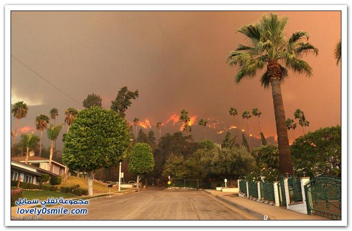 كاليفورنيا تعاود الاشتعال