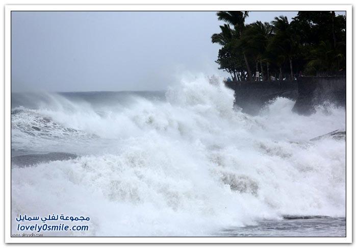 إعصار بيجيزا يجتاح ريونيون