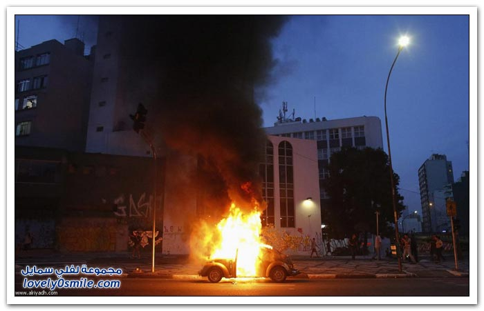 مظاهرات حاشدة في البرازيل