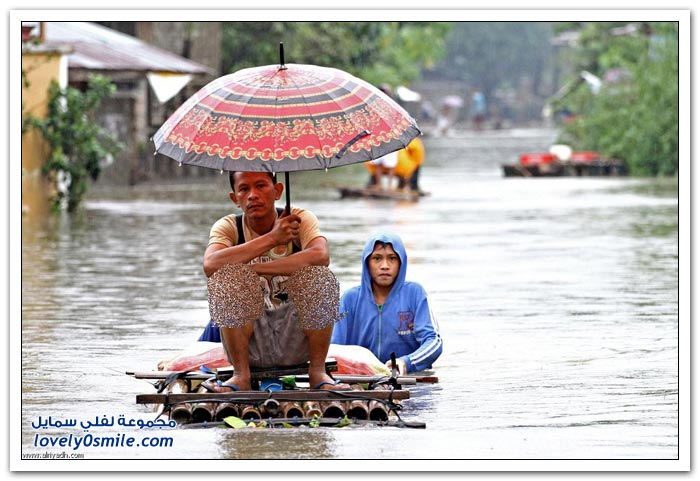 فيضانات تجتاح الفلبين