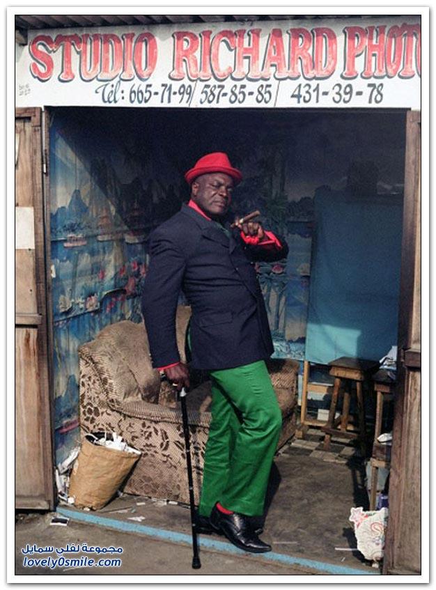 مفهوم الأناقة في الكونغو