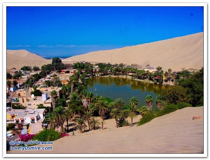 هواكشينا جنة الصحراء في البيرو