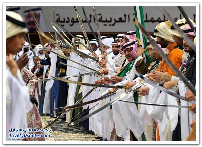 احتفالات العرضة في الجنادرية لعام 1435هـ