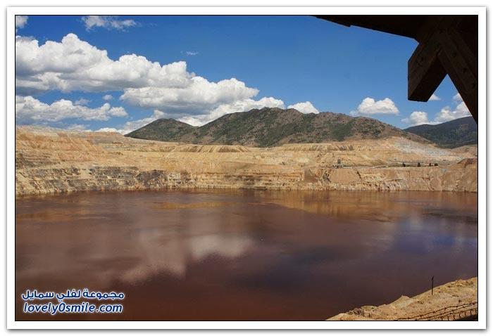 بحيرة بيركلي السامة في ولاية مونتانا بحيرة الموت