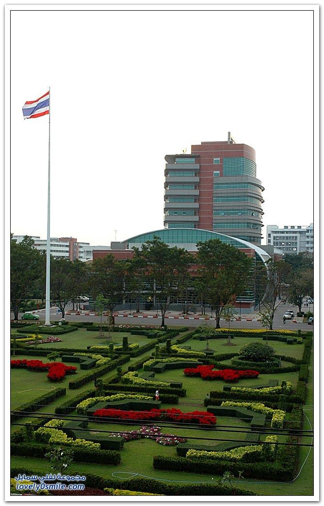 الحرم الجامعي في أحد جامعات في تايلاند