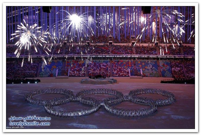 اختتام أولمبياد سوتشي