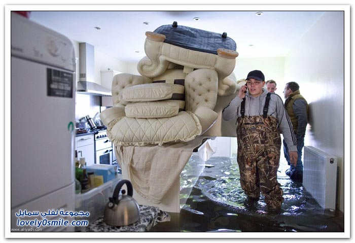 فيضانات تجتاح بريطانيا