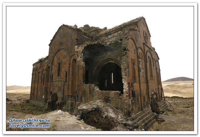 مدينة الأشباح على الحدود الشرقية لتركيا