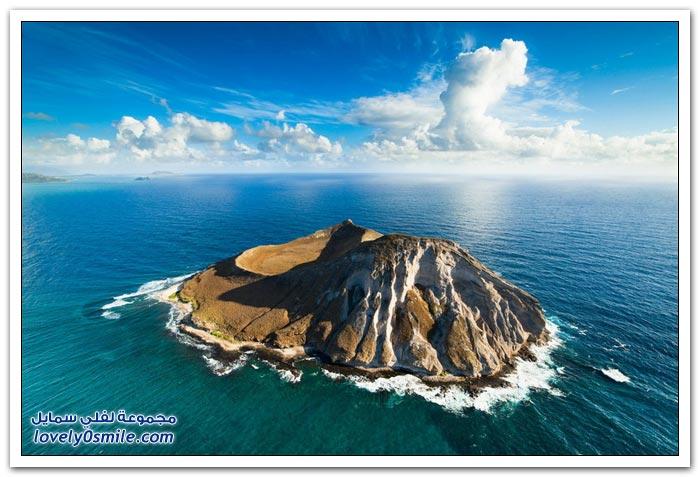جزر هاواي من السماء