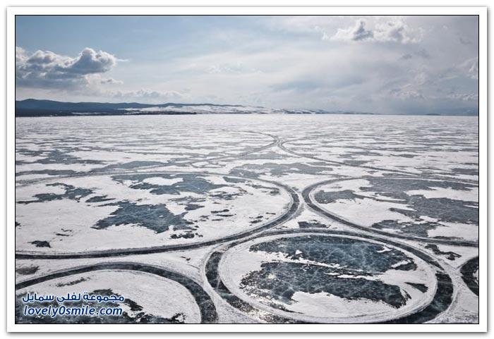 الفن على بحيرة بايكال في سيبيريا
