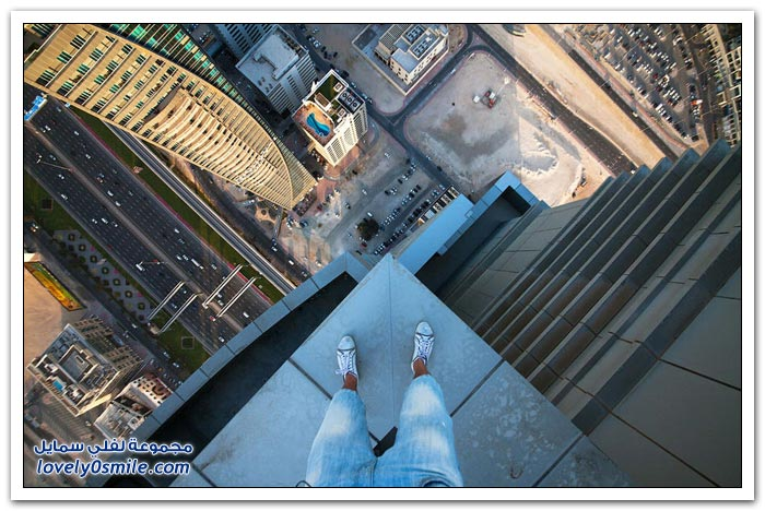 صور من على أسطح دبي