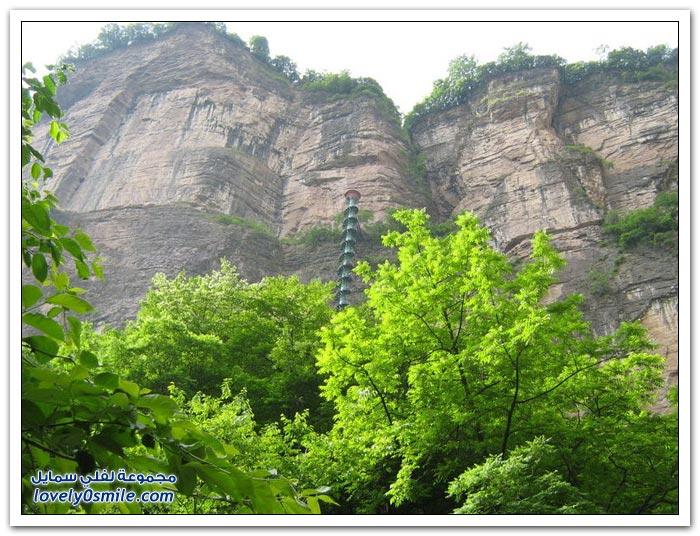 أعلى درج حلزوني في الصين