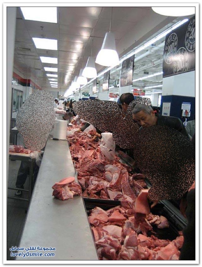 فقط في أسواق الصين